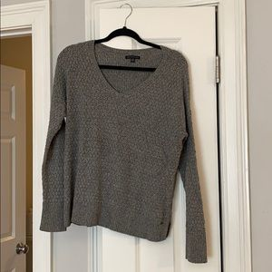 Grey Lightweight Crewneck Sweater